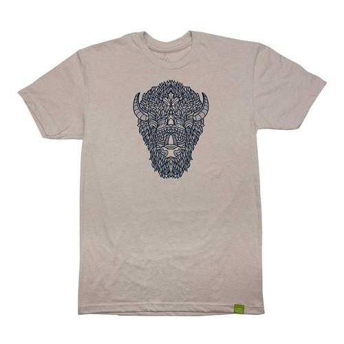Wild Tribute Bison Totem Men's T-Shirt