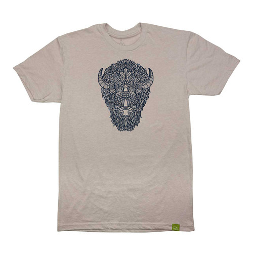 Wild Tribute Bison Totem Men's T-Shirt