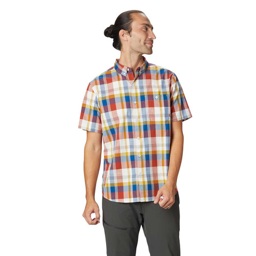 Big Cottonwood Short Sleeve Shirt - Dark Copper