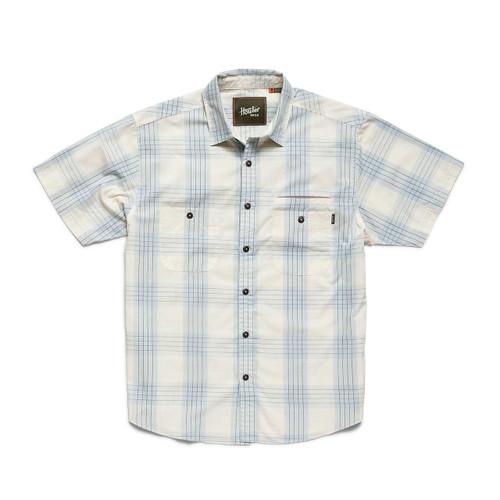 Aransas Shirt - Big Pane Plaid: Rising Blue