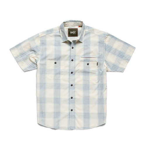Aransas Shirt - Big Pane Plaid: Rising Blue