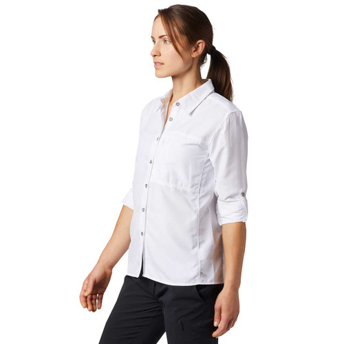 Canyon Long Sleeve Shirt - White