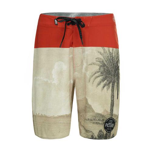 Code 19 Boardshort - Palmtree
