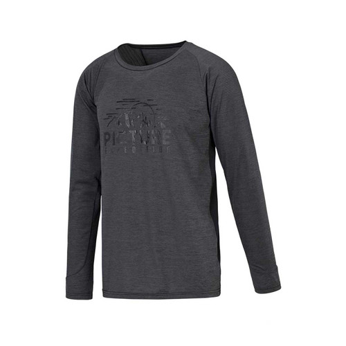 Hoper Long Sleeve Tech Tee - Black