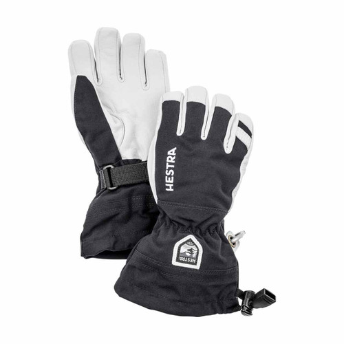 Hestra Heli Ski Jr Glove - Black