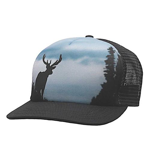 Slaton Snapback Hat - Black