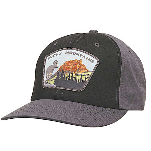 Parks Snapback Hat - Charcoal