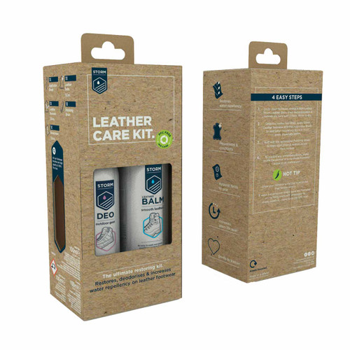 Storm Ultimate Leather Footwear Care Kit