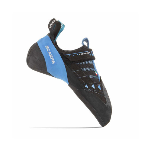 Scarpa Instinct VSR Climbing Shoe - Black/Azure