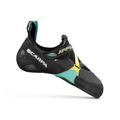 Scarpa Arpia Women's Climbing Shoe - Black/Aqua