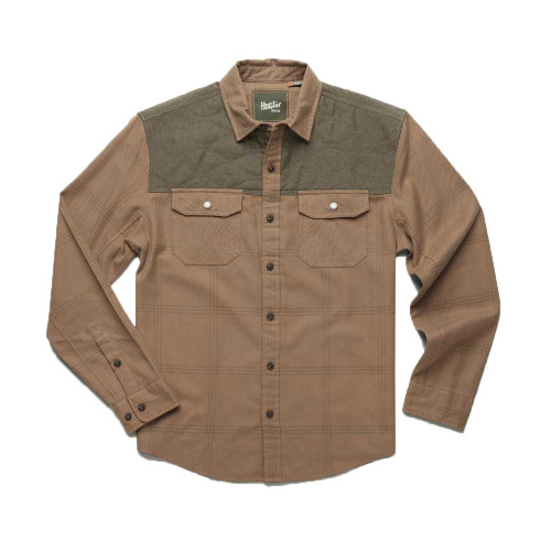 Howler Brothers Quintana Quilted Flannel - Adobe Tan