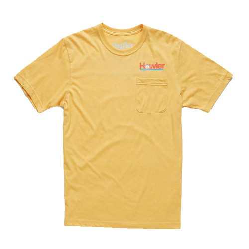 Howler Plantation Pocket T-Shirt - Pale Yellow