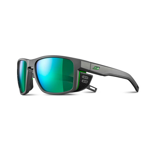 Julbo Shield Sunglasses - Gray/Green