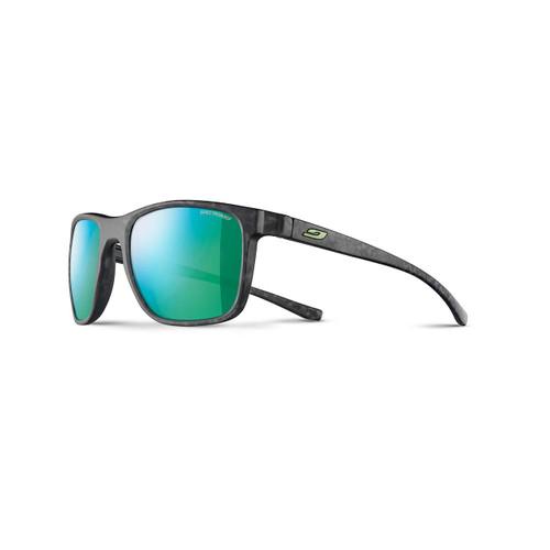 Trip Sunglasses - Gray Tortoise/Green