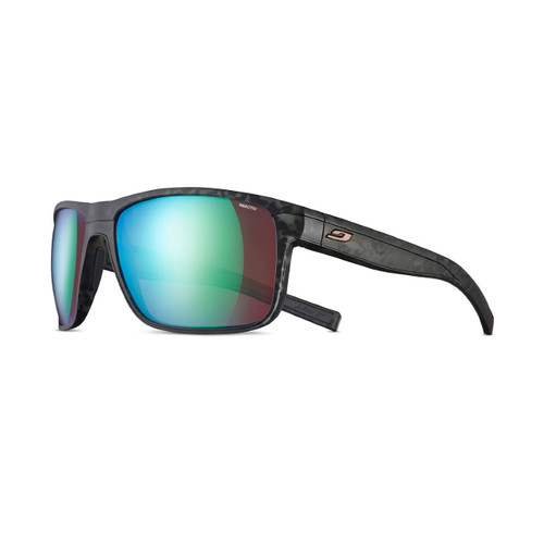 Julbo Renegade Sunglasses - Gray Tortoise/Black