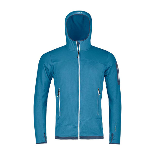 Merino Fleece Light Hoody - Blue Sea