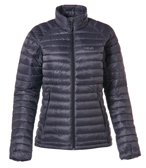 Women's Microlight Down Jacket - Steel/Passata