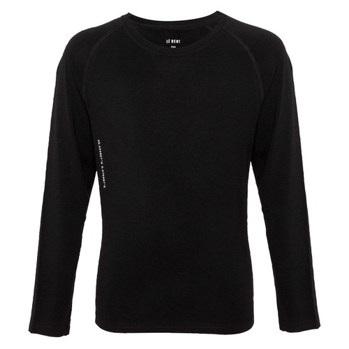 Le Bent Kids Le Base 200 Lightweight Baselayer Top - Black