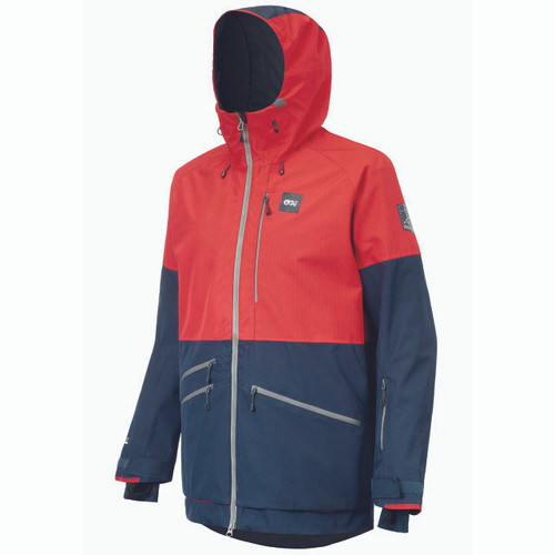 Stone Jacket - Red/Dark Blue