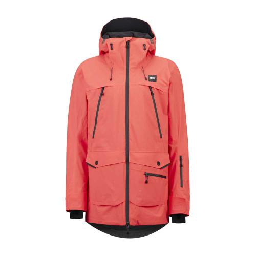 Haakon Jacket - Hot Coral