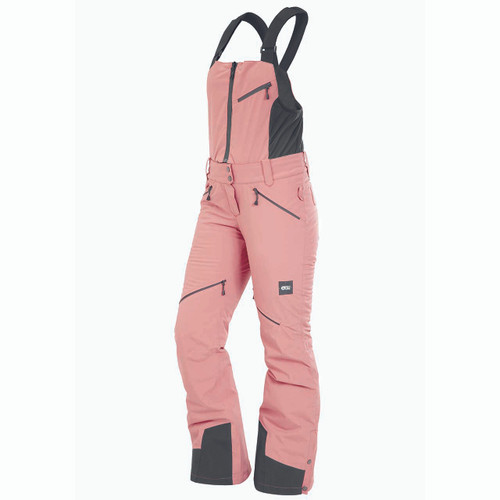 Haakon Bib Pant - Misty Pink