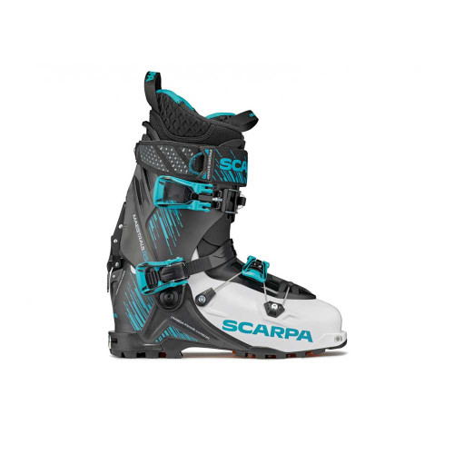 SCARPA Maestrale RS Ski Touring Boot - White/Black/Azure