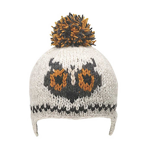 Creatures Beanie - Heather Stone