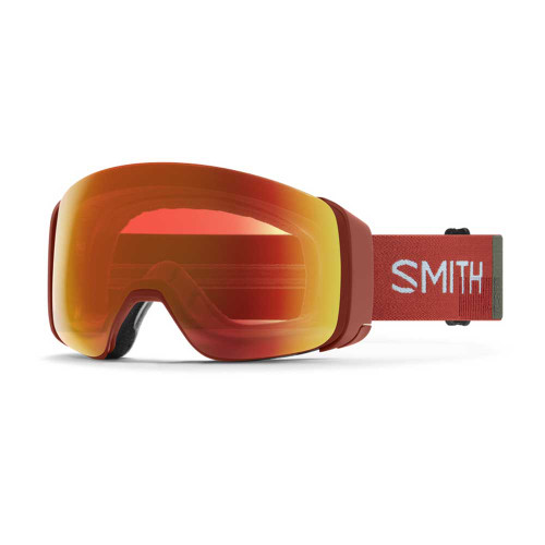 Smith 4D Mag Goggle - Clay Red Landscape || ChromaPop Everyday Red Mirror