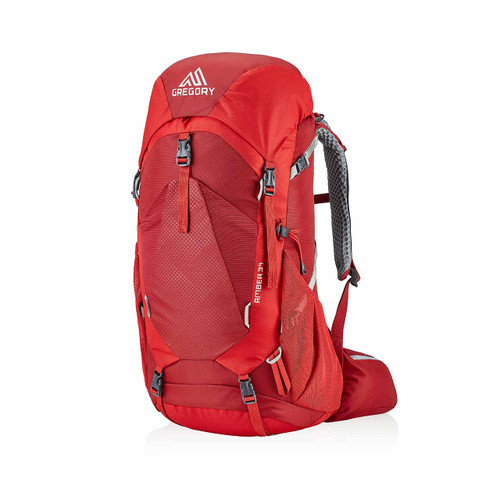Amber 34 Women's Backpack - Sienna Red