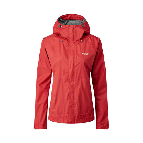 Downpour Women's Jacket - Geranium