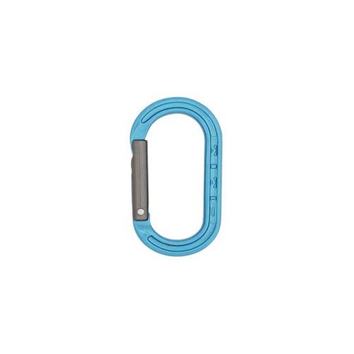 XSRE Mini Carabiner - Turquoise/Titanium