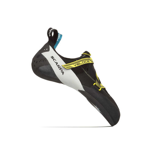 Veloce Men's Climbing Shoe - Black/Yellow