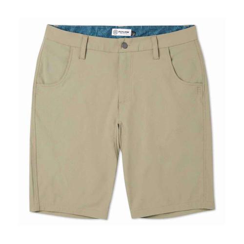"Flylow Men's Hot Tub 11.5"" Men's Short - Bamboo"