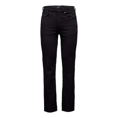 Forged Denim Pants - Black