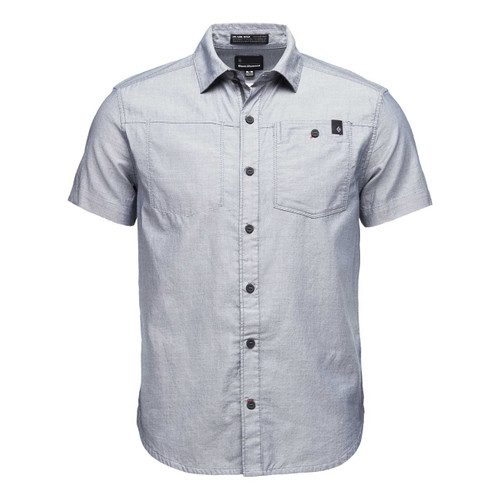 Solution Short Sleeve Shirt - Eclipse/White