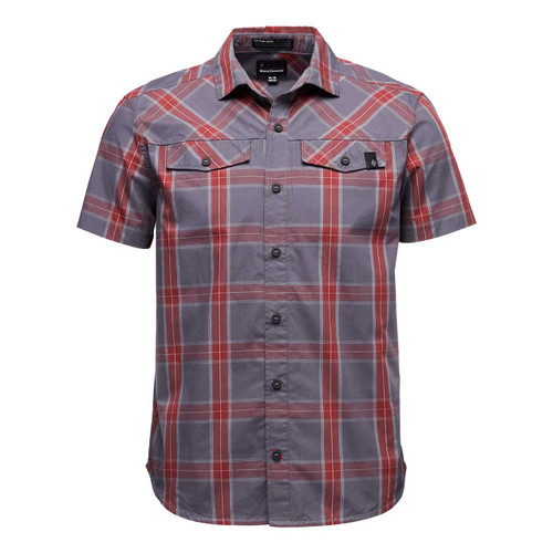 Benchmark Short Sleeve Shirt - Anthracite/Red Oxide/Alloy
