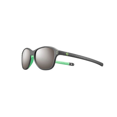Boomerang Kids' Sunglasses - Translucent Black/Green
