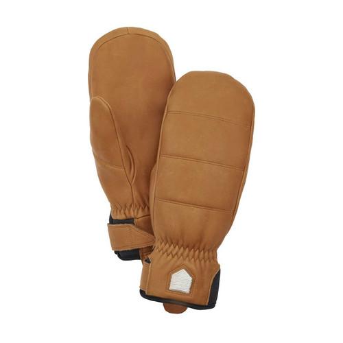 Hestra Alpine Leather Primaloft Mitt - Cork