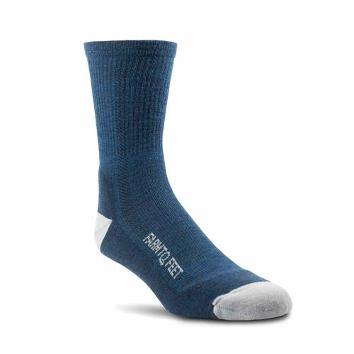 Denver Lightweight 3/4 Crew Socks - Denim