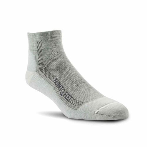 Denver Lightweight 1/4 Crew Socks - Natural