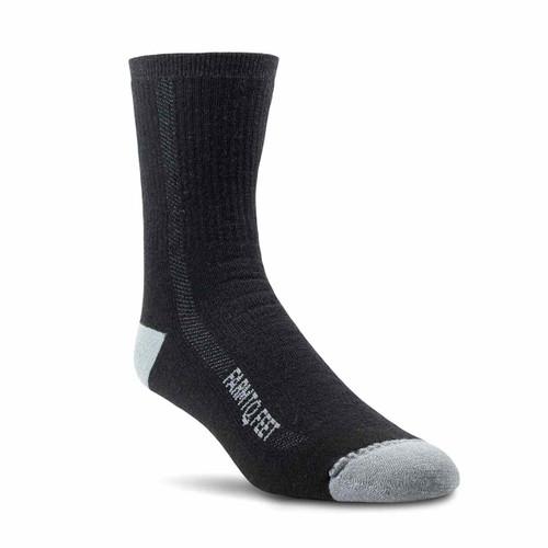 Denver Midweight 3/4 Crew Socks - Black