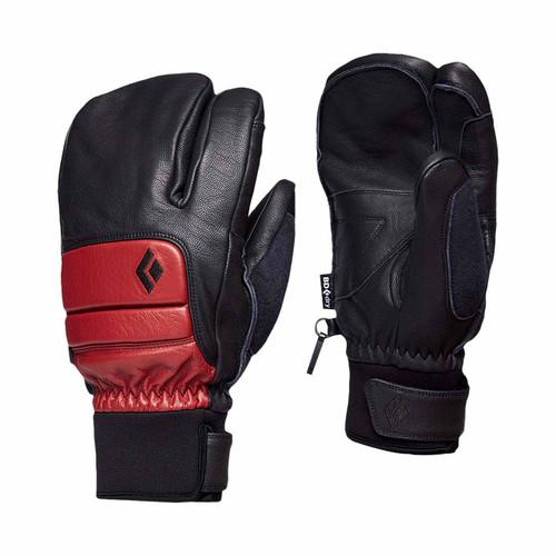Spark Finger Glove - Dark Crimson