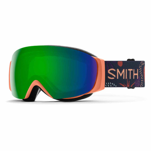 I/O MAG S Goggle - Salmon Bedrock || ChromaPop Sun Green Mirror