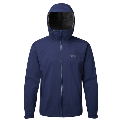 Rab Downpour Plus Jacket - Blueprint