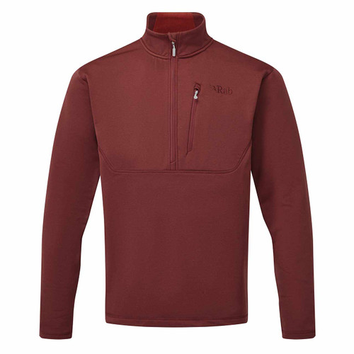 Rab Geon Pull-On Jacket - Oxblood Red