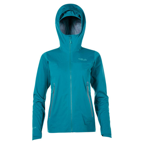 Rab Kinetic Plus Women's Jacket - Amazon/Shadow