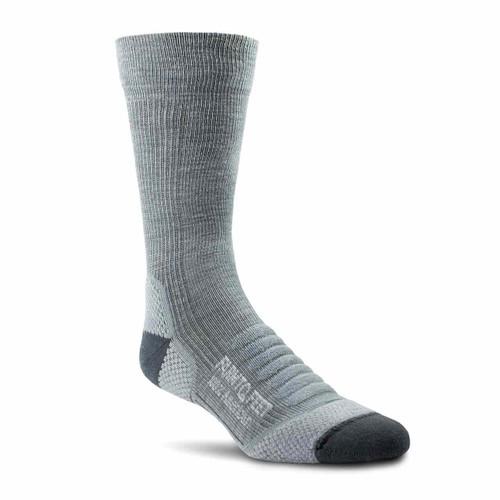 Farm to Feet Damascus Lightweight Crew Socks - Charcoal