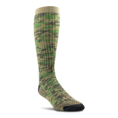 Slate Mountain Midweight Crew Socks - Treetop
