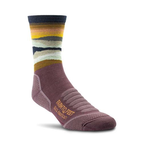 Farm To Feet Max Patch Socks - Dewberry