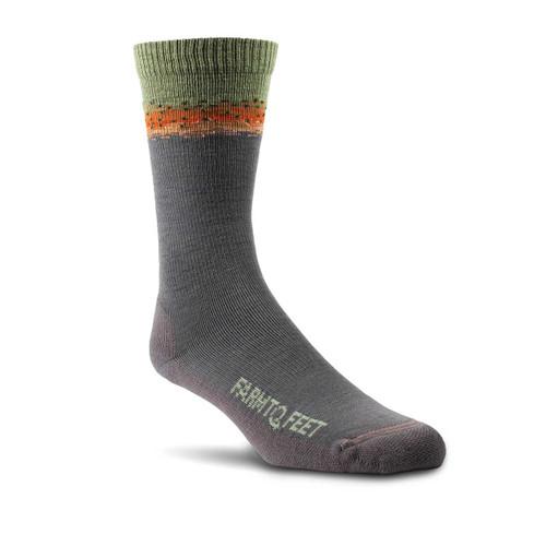 Farm To Feet Missoula Crew Socks - Rainbow Trout
